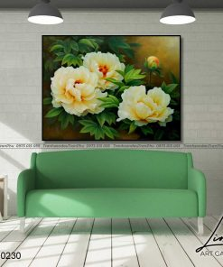tranh hoa mau don 26 247x296 - Tranh Hoa Mẫu Đơn - OHO0230