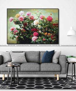 tranh hoa mau don 27 247x296 - Tranh Hoa Mẫu Đơn - OHO0232
