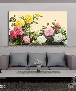 tranh hoa mau don 29 247x296 - Tranh Hoa Mẫu Đơn - OHO0252