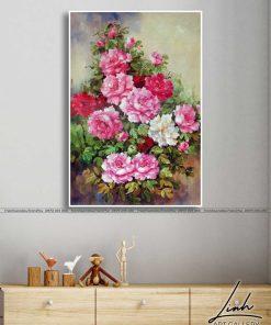 tranh hoa mau don 44 247x296 - Tranh Hoa Mẫu Đơn - OHO0368