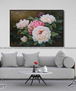 tranh hoa mau don 45 247x296 - Tranh Hoa Mẫu Đơn - OHO0377