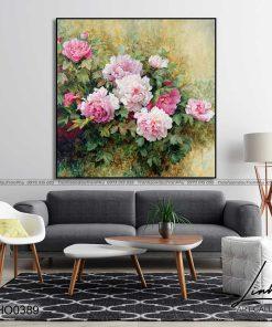 tranh hoa mau don 46 247x296 - Tranh Hoa Mẫu Đơn - OHO0389
