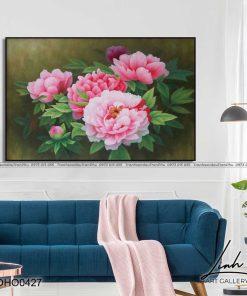 tranh hoa mau don 51 247x296 - Tranh Hoa Mẫu Đơn - OHO0427