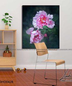 tranh hoa mau don 52 247x296 - Tranh Hoa Mẫu Đơn - OHO0428