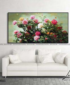 tranh hoa mau don 64 247x296 - Tranh Hoa Mẫu Đơn - OHO0503