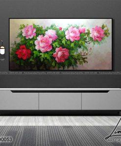 tranh hoa mau don 7 247x296 - Tranh Hoa Mẫu Đơn - OHO0053