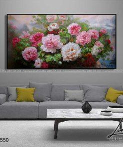 tranh hoa mau don 76 247x296 - Tranh Hoa Mẫu Đơn - OHO0550