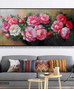 tranh hoa mau don 88 247x296 - Tranh Hoa Mẫu Đơn - OHO0569