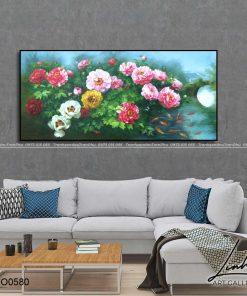 tranh hoa mau don 92 247x296 - Tranh Hoa Mẫu Đơn - OHO0580