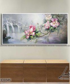 tranh hoa mau don 96 247x296 - Tranh Hoa Mẫu Đơn - OHO0585