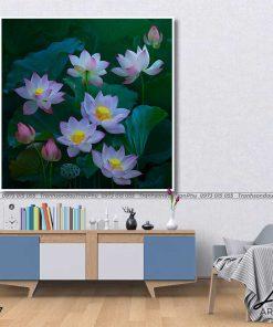 tranh hoa sen 40 247x296 - Tranh Hoa Sen - OHO0177
