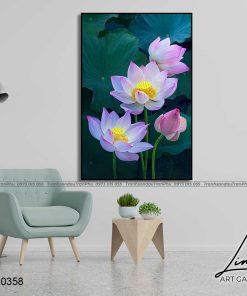 tranh hoa sen 85 247x296 - Tranh Hoa Sen - OHO0358