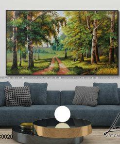 tranh phong canh 12 247x296 - Tranh Phong Cảnh - OPC0020