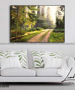tranh phong canh 133 247x296 - Tranh Phong Cảnh - OPC0255