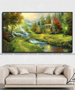 tranh phong canh 15 247x296 - Tranh Phong Cảnh - OPC0024