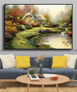 tranh phong canh 25 247x296 - Tranh Phong Cảnh - OPC0034