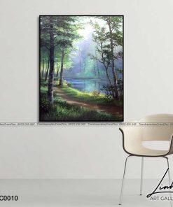 tranh phong canh 8 247x296 - Tranh Phong Cảnh - OPC0010