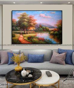 tranh phong canh 9 247x296 - Tranh Phong Cảnh - OPC0014