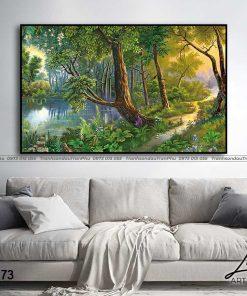 tranh phong canh hoang hon 67 247x296 - Tranh Phong Cảnh Hoàng Hôn - OPC0273