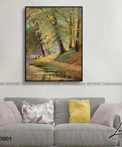 tranh phong canh thien nhien 1 247x296 - Phong Cảnh Thiên Nhiên - OPC0001