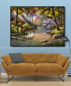 tranh phong canh thien nhien 19 247x296 - Phong Cảnh Thiên Nhiên - OPC0176