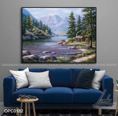 tranh phong canh thien nhien 20 407x400 - Phong Cảnh Thiên Nhiên - OPC0350