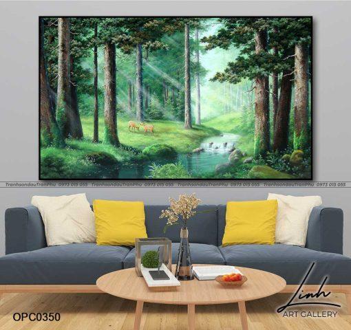 tranh phong canh thien nhien 47 510x480 - Phong Cảnh Thiên Nhiên - OPC0350