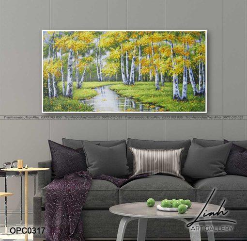 tranh rung cay 24 510x497 - Tranh Rừng Cây - OPC0317