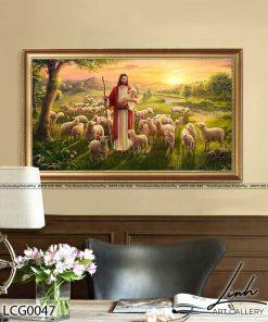 Tranh Chua Chan Chien 1 247x296 - Tranh Chúa Chăn Chiên - LCG0047
