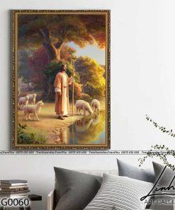 Tranh Chua Chan Chien 4 247x296 - Tranh Chúa Chăn Chiên - LCG0060