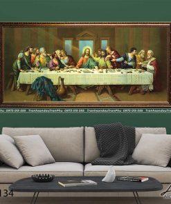 tranh bua tiec ly 2 247x296 - Tranh Bữa Tiệc Ly - LCG0134