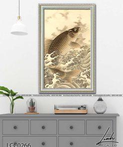 tranh ca chep hoa rong 11 247x296 - Cá Chép Hóa Rồng - LCC0266