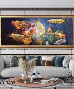 tranh ca chep hoa rong 16 247x296 - Cá Chép Hóa Rồng - LCC0405