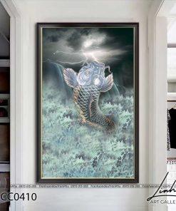 tranh ca chep hoa rong 17 247x296 - Cá Chép Hóa Rồng - LCC0410
