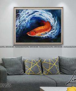 tranh ca chep hoa rong 7 247x296 - Cá Chép Hóa Rồng - LCC0255