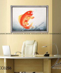 tranh ca chep hoa rong 8 247x296 - Cá Chép Hóa Rồng - LCC0256