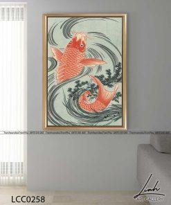 tranh ca chep hoa rong 9 247x296 - Cá Chép Hóa Rồng - LCC0258