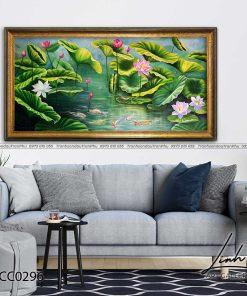 tranh ca chep hoa sen 27 247x296 - Tranh Cá Chép Hoa Sen - LCC0296