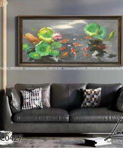 tranh ca chep hoa sen 64 247x296 - Tranh Cá Chép Hoa Sen - LCC0427