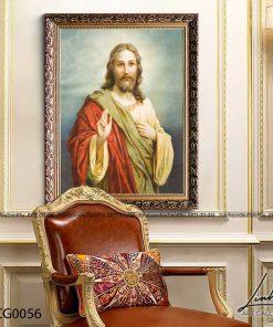 tranh chua giesu 21 247x296 - Tranh Chúa Giêsu - LCG0056