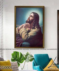tranh chua giesu 3 247x296 - Tranh Chúa Giêsu - LCG0005