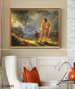 tranh chua giesu 30 247x296 - Tranh Chúa Giêsu - LCG0085