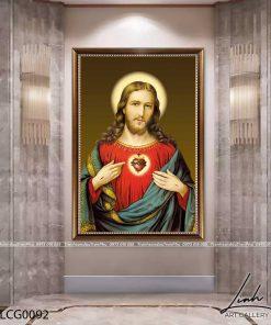 tranh chua giesu 33 247x296 - Tranh Chúa Giêsu - LCG0092