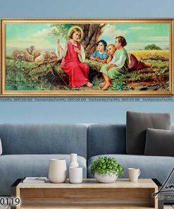 tranh chua giesu 44 247x296 - Tranh Chúa Giêsu - LCG0119