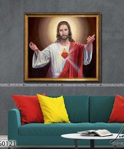 tranh chua giesu 45 247x296 - Tranh Chúa Giêsu - LCG0121