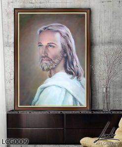 tranh chua giesu 6 247x296 - Tranh Chúa Giêsu - LCG0009