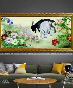 tranh con de 39 247x296 - Tranh Con Dê - LCD0039