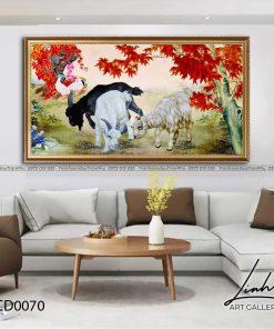 tranh con de 70 247x296 - Tranh Con Dê - LCD0070