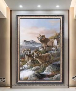 tranh con de 72 247x296 - Tranh Con Dê - LCD0072