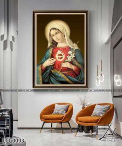 tranh duc me maria 10 247x296 - Sản Phẩm Mới